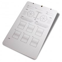 Coaches' Deluxe Volleyball Clipboard by Tandem Sport