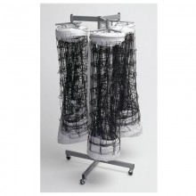 Triple Net Storage Rack by Tandem Sport